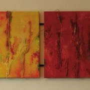 Vier zusters - Afmeting: 143 x 40